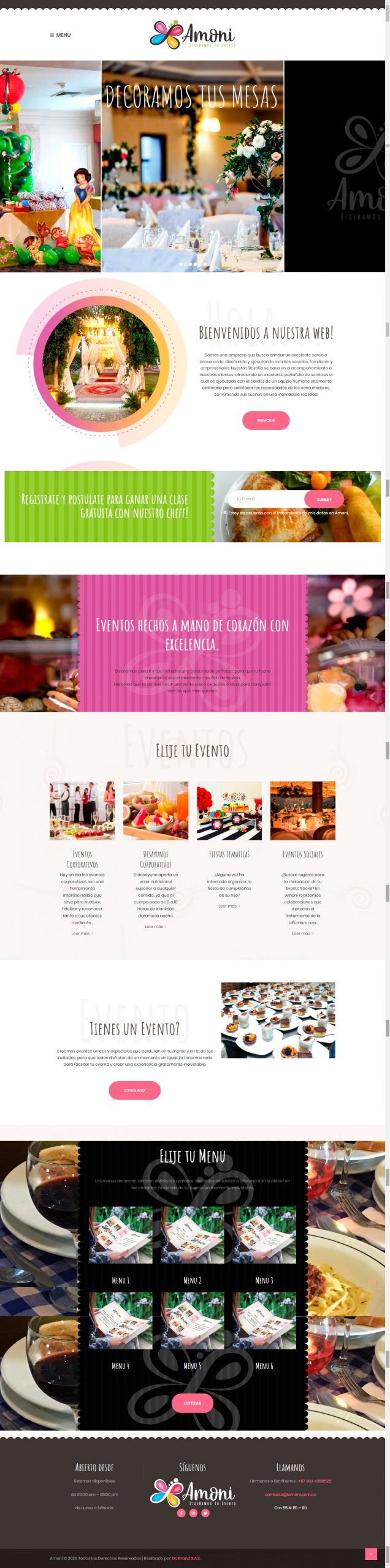 Sitio Web Amoni